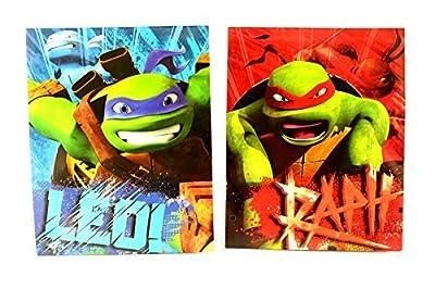 Teenage Mutant Ninja Turtles (TNMT) Pocket Folder Portfolio Set of 2