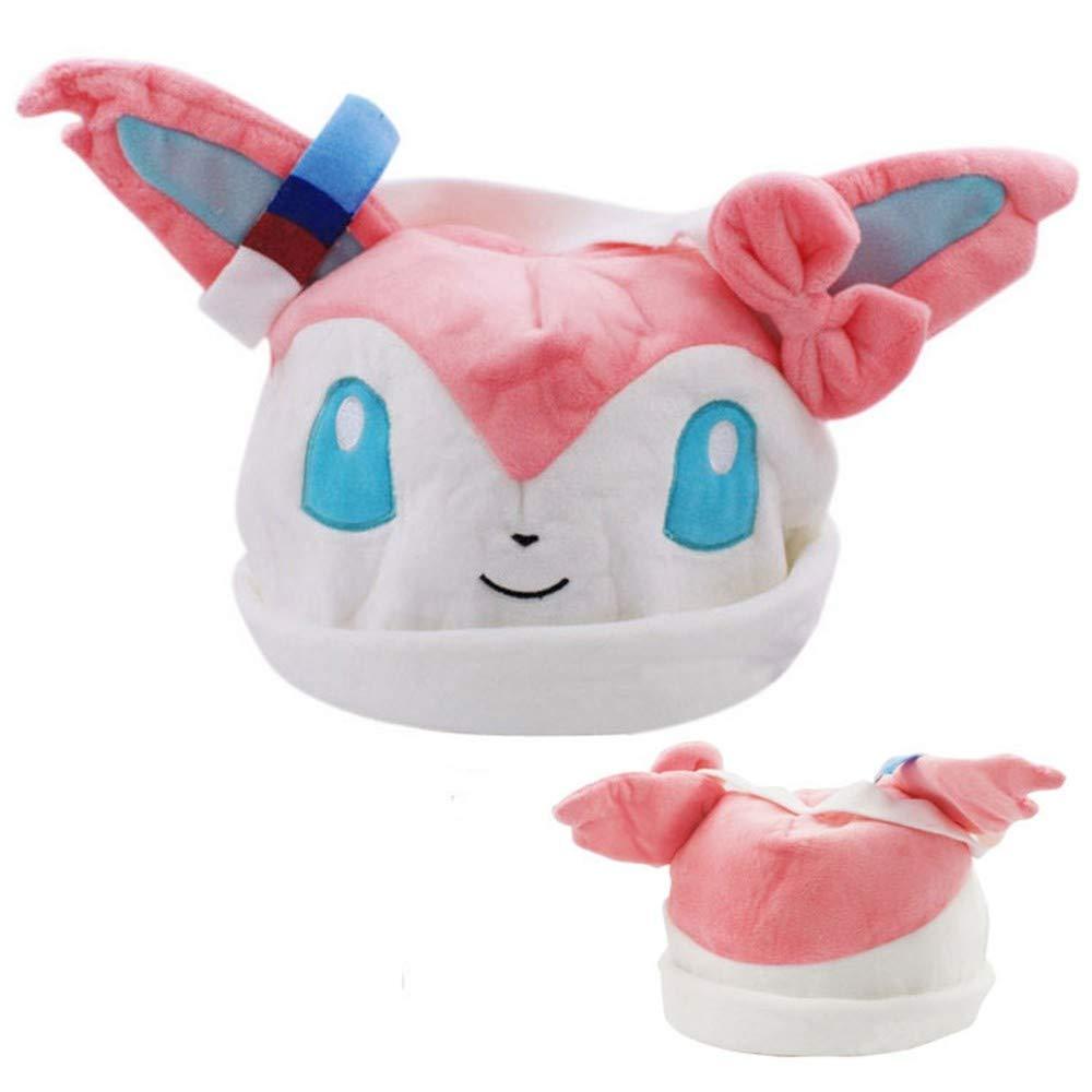 632b536db XPFF Linda Gorra Suave Traje De Pokemon Sombrero Ocio Ocio Ocio Moda  Divertida Cálida