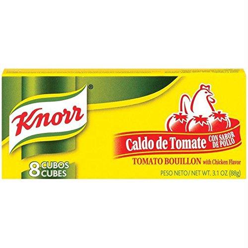 Knorr Tomato Bouillon Cube, Chicken, 3.1 - Cubes Boullion