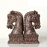 American Country Creative Horse Resin Bookends/Book Decoration Crafts-A