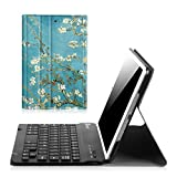 Fintie iPad mini 1 2 3 Keyboard Case - Blade X1 Ultra Slim Shell Lightweight Cover with Magnetically Detachable Wireless Bluetooth Keyboard for Apple iPad mini 3 iPad mini 2 iPad mini 1 - Blossom