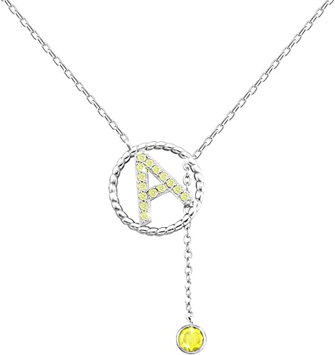 monogram necklace girlfriend necklace Letter J Necklace letter necklace letter birthstone birthstone necklace friendship necklace