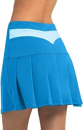 Women's Active Skorts Pockets Tennis Golf Skirt Running Workout Sports Ball Pocket