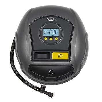 Ring RTC500 compresor de Aire, inflador Digital con Auto/Parada y LED: Amazon.es: Coche y moto