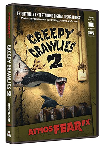 AtmosFEARfx Creepy Crawlies 2 Halloween Digital Decorations