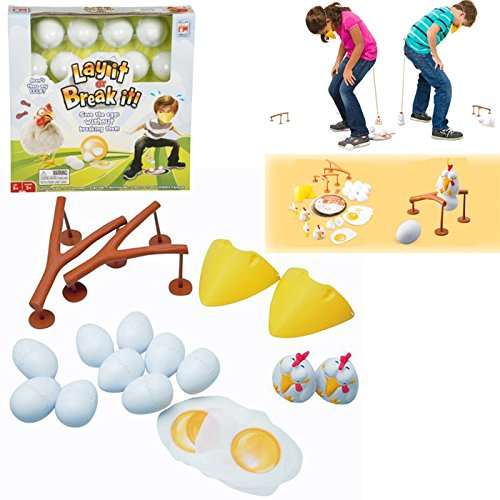 LAY IT OR BREAK IT FUN GAME SAVE THE EGGS KIDS XMAS GIFT FUN PRESENT PLAY NEW