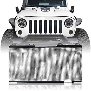 Amazon Com U Box Jeep Wrangler Front Grille Insert Hood