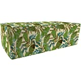 Jordan Manufacturing Outdoor Patio Double Pouf Ottoman