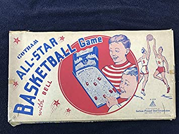 Juego de Baloncesto Vintage de Gotham All-Star 1947 Pin Ball ...
