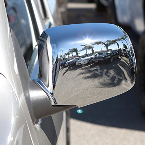 Razer Auto Chrome ABS Mirror Cover for 04-12 GMC Canyon/04-12 Chevy Chevrolet Colorado 04 05 06 07 08 09 10 11 12 ()