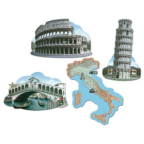 Italian Cutouts   (4/Pkg)