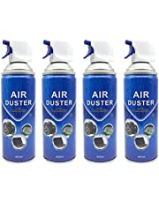 400ml Multi-Purpose Compressed Air Duster Cleaner (4PACK)