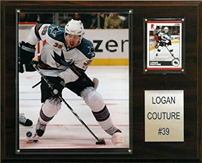 NHL Logan Couture San Jose Sharks Player Plaque