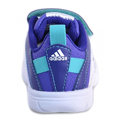 Adidas - Adidas Sta Fluid 3 CF I Scarpe Bambina Viola Pelle Strappi M25492 - Violet, Intel Core 2 Duo à 1,8 GHz