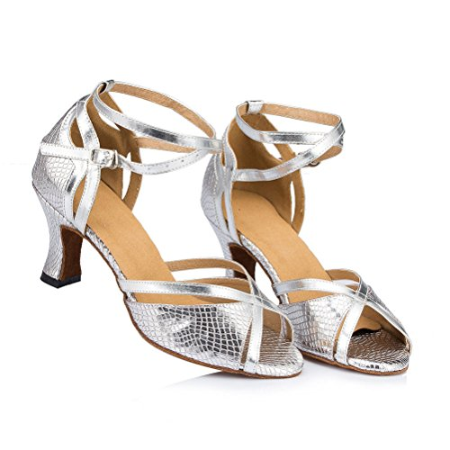 Misu Dance mit Tango toe Toe Shoes Latin 3 Sandals Frauen Schuhe Dance Salsa 3 3 Ballroom Salsa Tango Practice 3 Ballroom Sandalen Peep Women's Latin Praxis Misu Peep with rTrqP1nzw