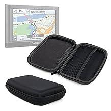 """Housse de protection pour assistant de navigation / GPS 7"""" Garmin nüvi 2797 LMT, 2798 et 2699 LMT-D, 2659 et 65LM - rigide, en nylon noir léger + chiffon, par DURAGADGET"""