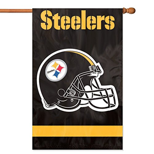 Party Animal Pittsburgh Steelers Banner NFL Flag, ()