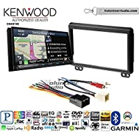 Volunteer Audio Kenwood DNX874S Double Din Radio Install Kit with GPS Navigation Apple CarPlay Android Auto Fits 2003 Expedition and Navigator