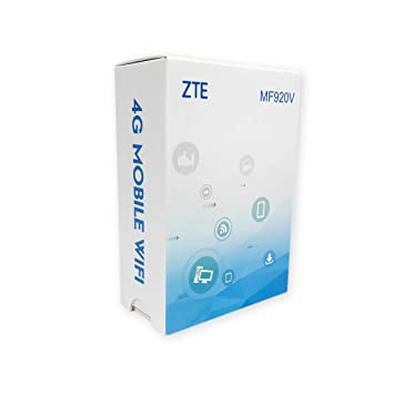 ZTE MF920V 4G Low Cost Travel Hotspot, Unlocked to all Networks