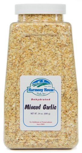 Harmony House Foods, Dehydrated Garlic, Gourmet Minced (20 oz) by Harmony House Foods