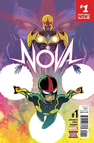 NOVA (2017) #1 VF/NM Sam Alexander Ego Return of - Nova Nm