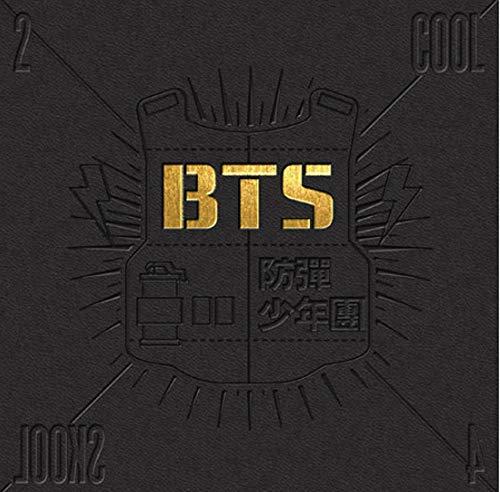 BTS KPOP Bangtanboys Single Album [2 Cool 4 Skool] CD + Photobook (Bts 2 Cool 4 Skool O Rul8 2)