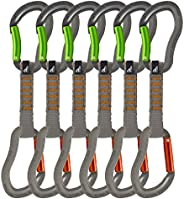 Fusion Climb Techno Zoom Bent Gate & Straight Gate Key Nose Carabiners Quickdraw BG/ST-11 cm 6