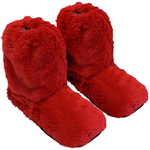 Microondas Rojo Horno Zapatillas En Sox Térmicas Calentables El Thermo fnP1FqXpn