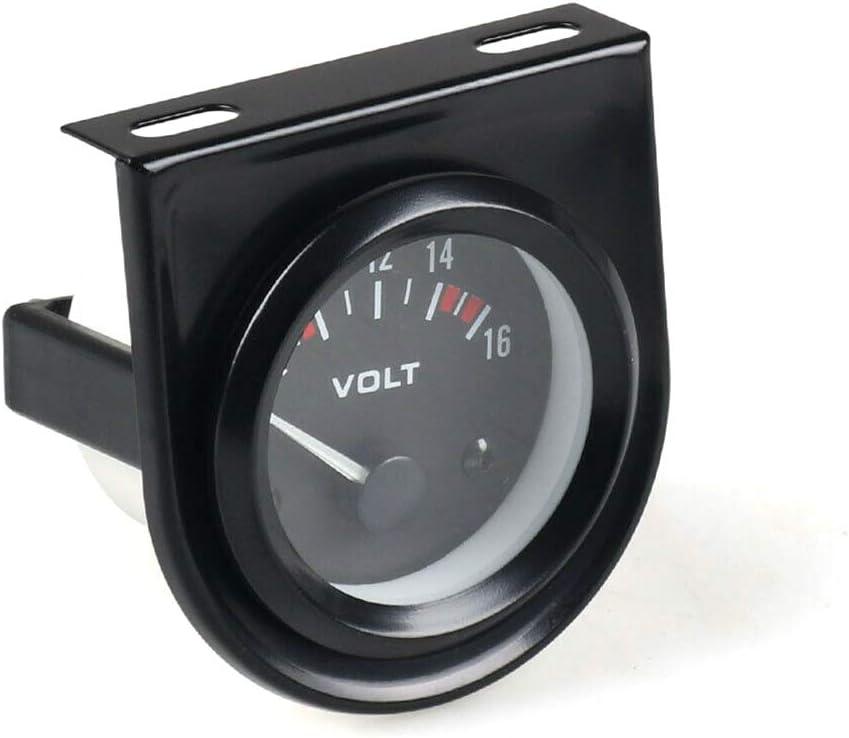 Semine Auto Digital Voltmeter DC 12V LED Digitalanzeige wasserdicht Voltmeter f/ür Auto