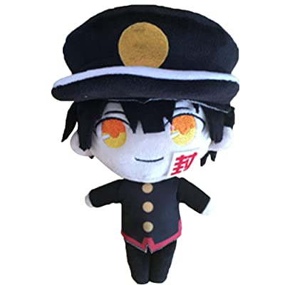 Chutoral Toilet-Bound Hanako-kun Plush Toy, Jibaku Shounen/Nene Yashiro Pillow Doll Plush Puppets Toy Character Plush(H02 22cm): Sports & Outdoors