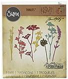 Sizzix 661190 Wildflowers Thinlits Die Set by Tim Holtz (7/Pack)