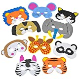 Best Rhode Island Novelty Gags - Rhode Island Novelty 12 Assorted Foam Animal Masks Review