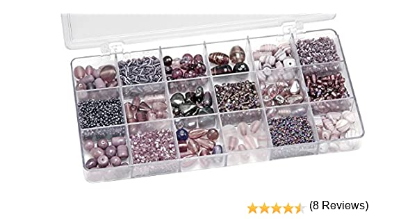 Gütermann / KnorrPrandell 6050310 - Caja con perlas de cristal ...