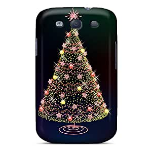 LbJ2035JzeG Case Cover Christmas Tree Galaxy S3 Protective Case