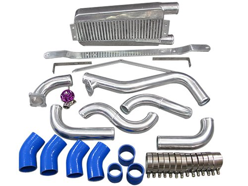Bolt on Intercooler Kit For 95-99 Mitsubishi Eclipse Talon 2G DSM with Stock T25 Turbo (99 98 97 Eclipse Stock)