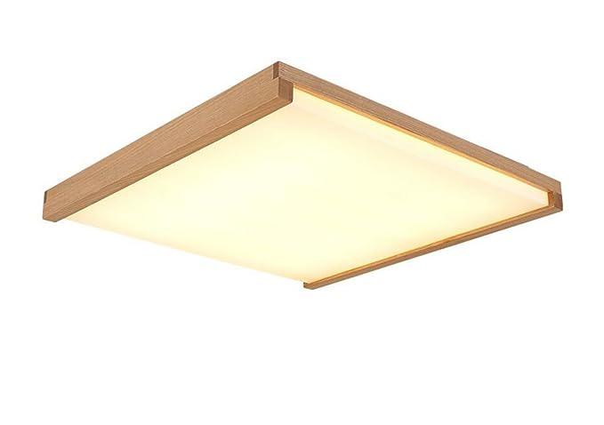 Plafoniera Quadrata 40x40 : Lichtssrr soffitto leggero ultra sottile tronchi luce a