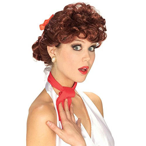 Lucille Ball Wigs (Forum Halloween 1950's Era TV Housewife Wig, Auburn, One Size)