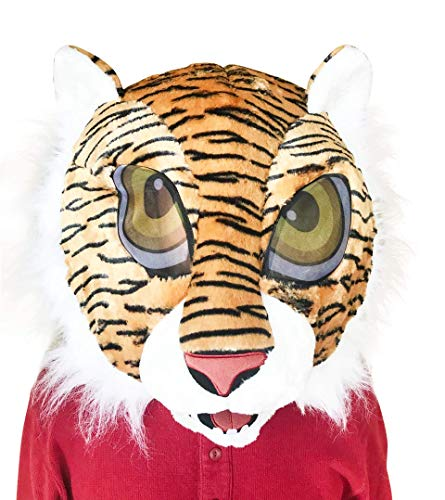 Maskimals Tiger Plush Costume Head