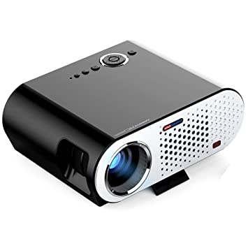 Proyector portátil Mini El proyector LED portátil es ...