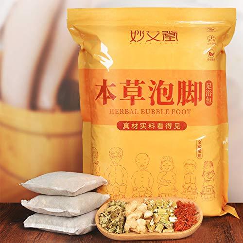 GARYOB Foot Bath Herb 30Bags, Nature Organic Chinese Medicine Foot Herb Bag for Foot Soak Spa