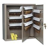 MMF Industries 240-key Steel Cabinet-Key Cabinet, 240 Key Capacity, 16-1/2''x4-7/8''x20-1/8'', Sand