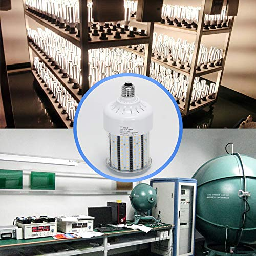 30w Corn Led Light Bulbs E26 E39 Base,300w Equielent. 5000k,Led Replacement 70-100w Metal Halide HID CFL HPS Lamp for… 5