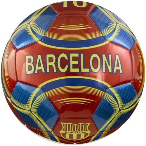 バルセロナサッカーボール公式ジュニアサイズ4サッカーボール – Vizari – Messi # 10 B011DO7WD4