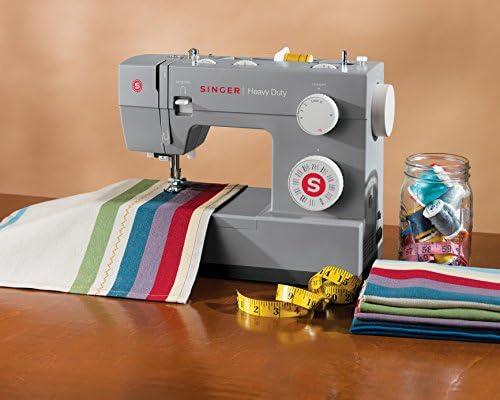 SINGER Heavy Duty 4432 Sewing Machine, 18 lbs, Gray