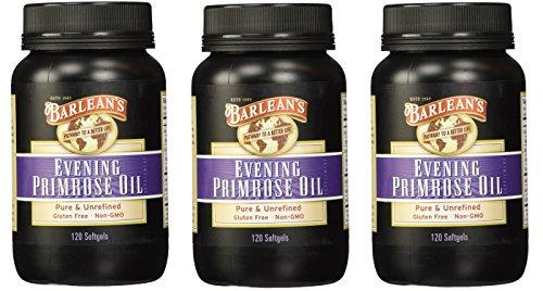 Evening Primrose Oil - Softgels - 120 ct - 3 Pack by Barlean's