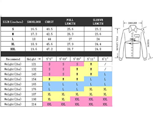 shengweiao Men s Zip Knitted Cardigan Sweater (US Small 938916f00