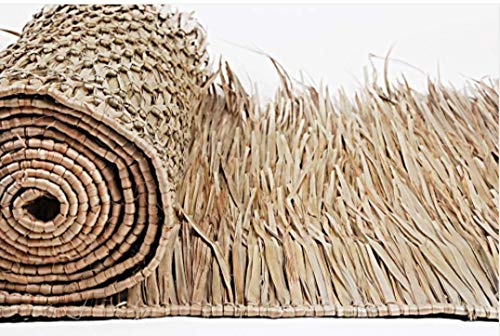 Thatch Mexican Palm Runners-30 Wide Choice of 2 Lengths (Palm, 17' Roll)