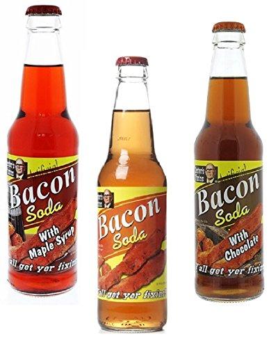 Lester's Fixins Bacon Flavored Soda Variety (Bacon Flavor Soda)