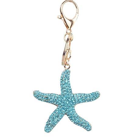Llavero Personalidad Estrella de mar Llavero creativo ...