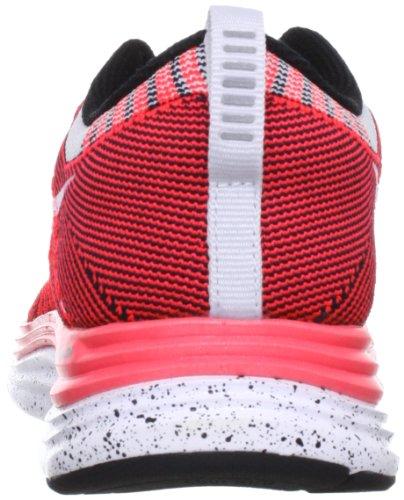Nike Womens Flyknit One + Scarpa Da Corsa Rosso / Bianco